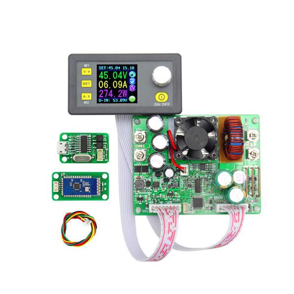 RIDEN® DPS5015 Communication Constant Voltage Current Step-down Digital Power Supply Module Buck Voltage Converter LCD Voltmeter 50V 15A