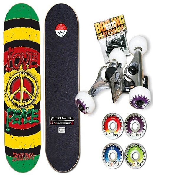 Brand Boling Maple Skateboard Sports Equipment Intermediate Skateboard