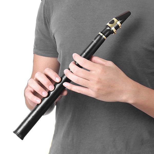 8 ثقوب Key-Bb Mini Sax Pocket Saxophone Little Sax مع ألتو لسان الحال
