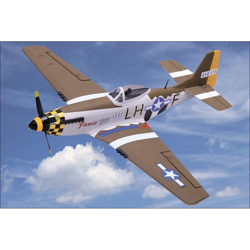 NiceSky P-51 Mustang RC Airplane EPP 680mm Wingspan Aircraft Warbird Plane PNP