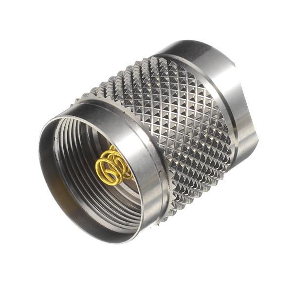 Astrolux S41S Tapa de cola entera de acero inoxidable LED linterna para DIY