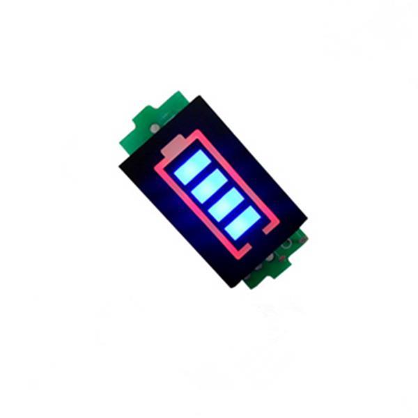 3.7V/7.4V /11.1V/14.8V Li-po Battery Indicator Display Board Power Storage Monitor