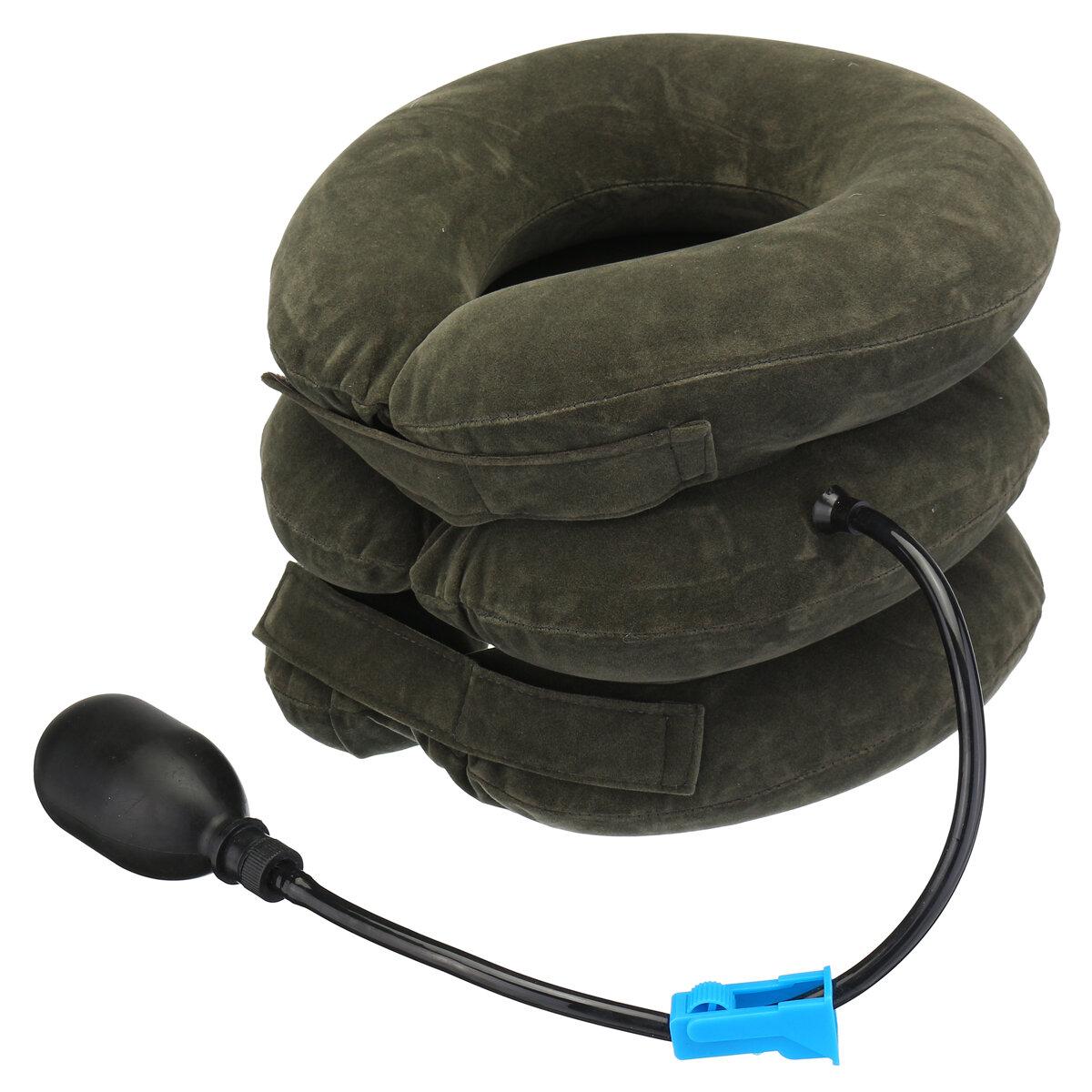 Dispositivo portatile della barella di sostegno del gancio di trazione di sollievo Collo del collare cervicale gonfiabile