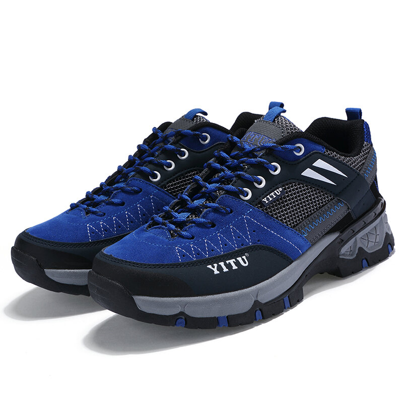 Outdoor Hiking Shoes Breathable Waterproof Anti-slip Wear-resistant Running Climbing Leisure Shoes