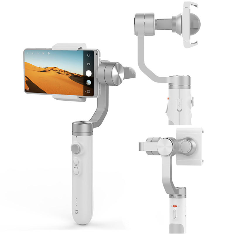Xiaomi Mijia SJYT01FM 3 Axis Handheld Gimbal Stabilizer with 5000mAh Battery for Action Camera Phone
