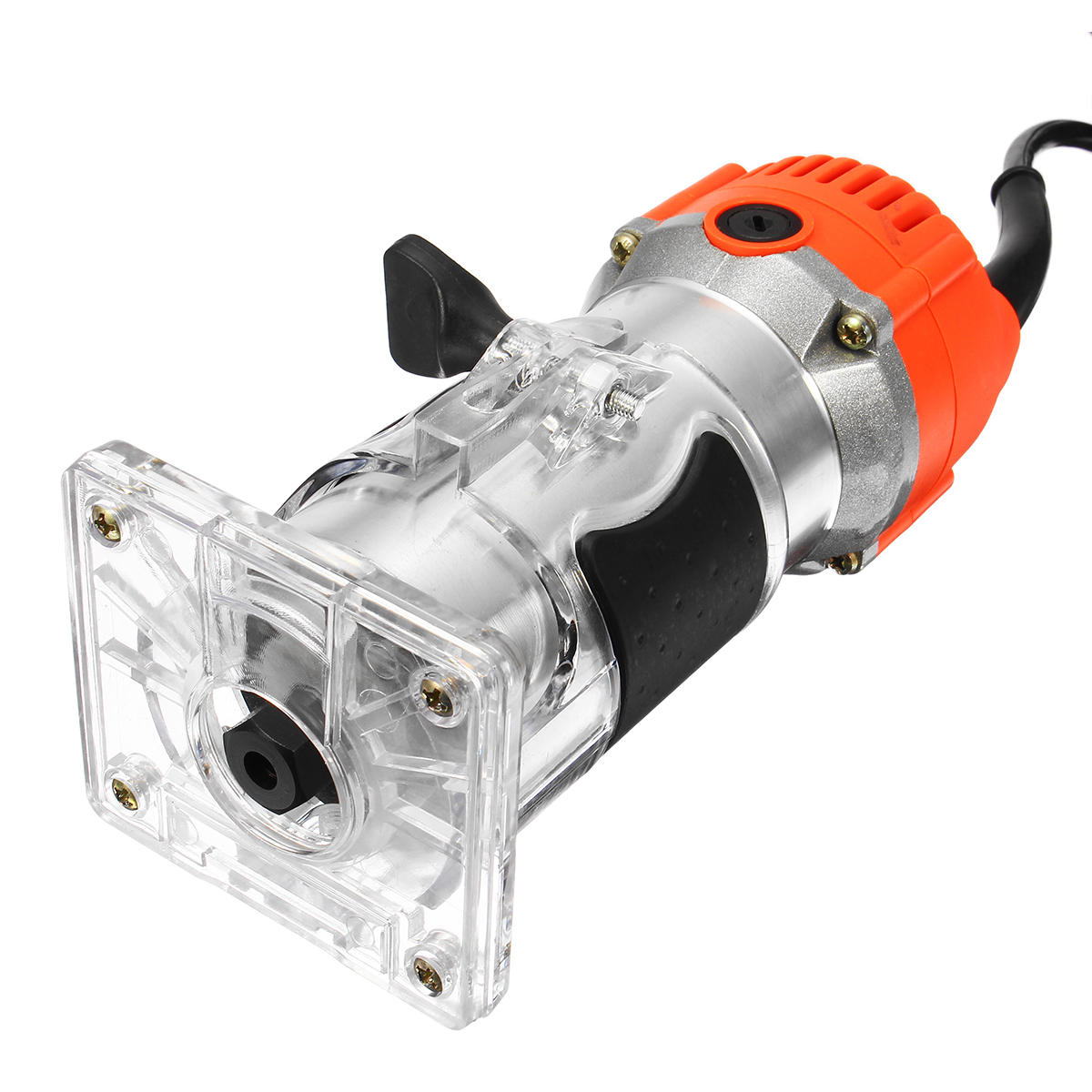 Raitool® 800W 30000RMP Electric Hand Trimmer 1/4 Inch Corded Wood Laminate Palm Router