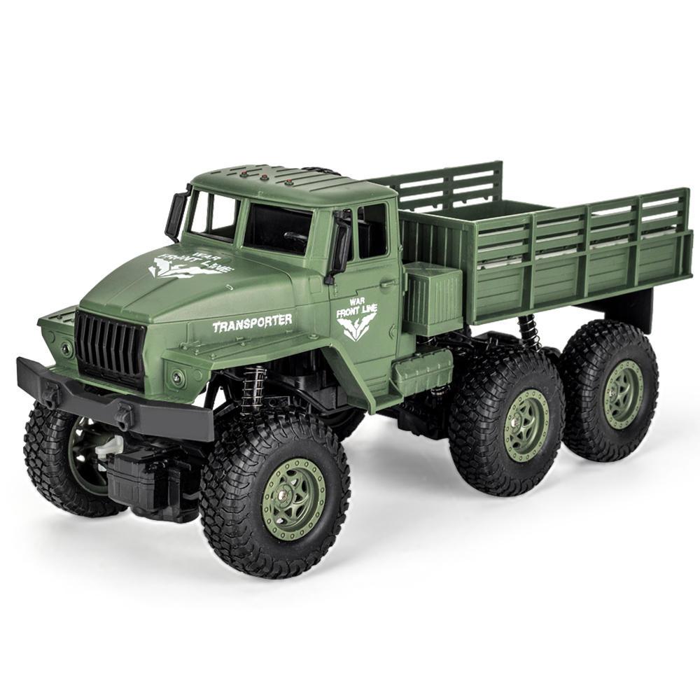 JJRC Q68 Q69 1/18 2.4G 6WD RC Vehicle Off-Road Military Truck Car RTR Model