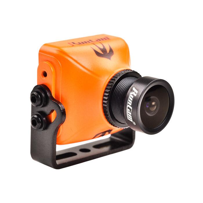 RunCam Swift 2 1/3 सीसीडी 600TVL पाल एफओवी 130/150/165 डिग्री 2.5 मिमी / 2.3 मिमी / 2.1 मिमी माइक्रो एफपीवी कैमरा ओएसडी एमआईसी