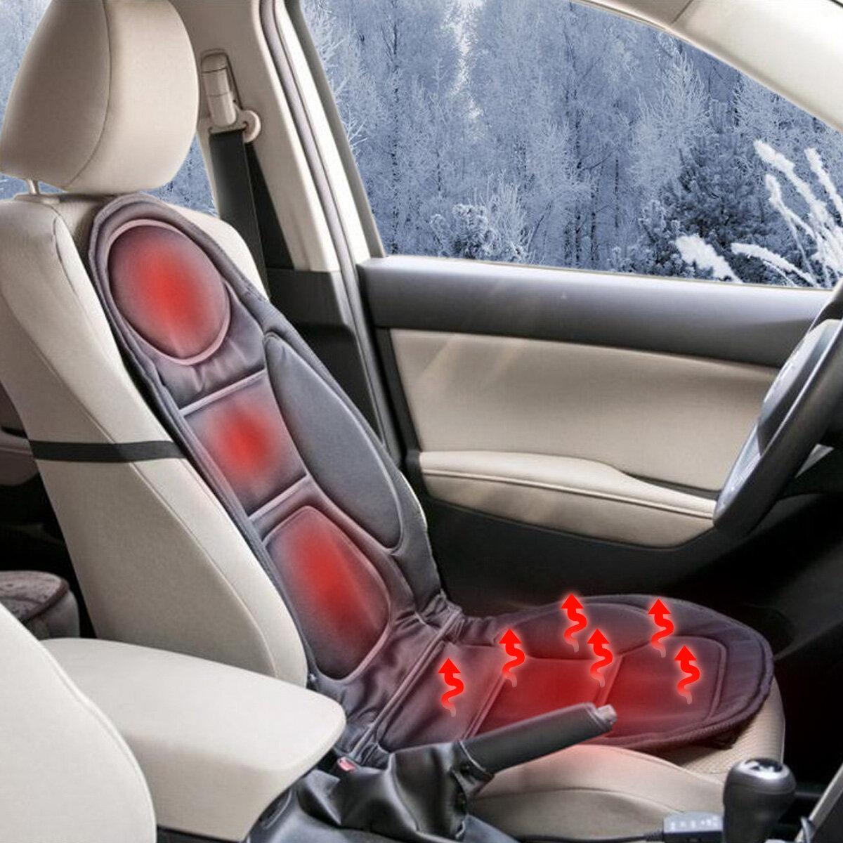 12V गरम कार सीट कुशन कवर सीट हीटर गरम सर्दियों घरेलू गरम तकिया