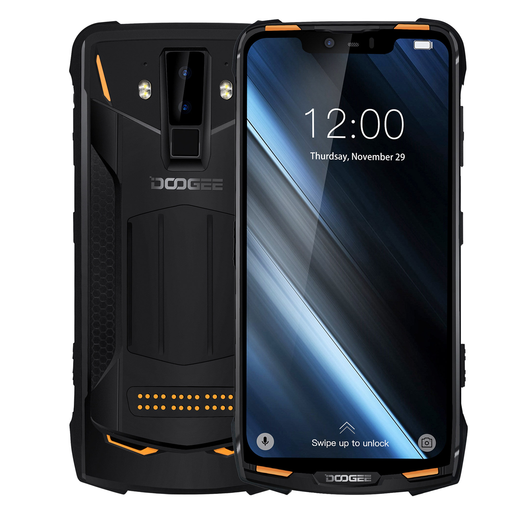 US$299.9925%DOOGEE S90 6.18 Inch FHD+ IP68 Waterproof NFC 5050mAh 6GB RAM 128GB ROM Helio P60 Octa Core 4G SmartphoneSmartphonesfromMobile Phones & Accessorieson banggood.com