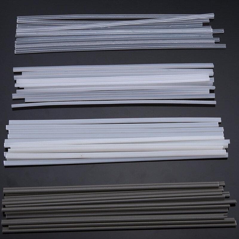 50PCS Plastic Welding Rods ABS/PP/PVC/PE Welding Sticks 200mm for Plastic Welding