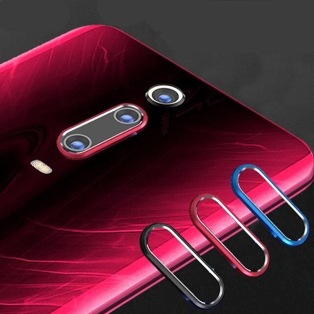 Xiaomi Mi9T Pro / Xiaomi Mi 9T / Xiaomi Redmi K20/Redmi K20 PRO के लिए Bakeey एंटी-स्क्रैच मेटल सर्कल रिंग फोन कैमरा लेंस स्क्रीन रक्षक