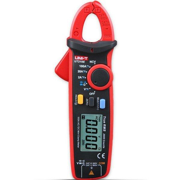 UNI-T UT210E el alcance automático digital de verdadero valor eficaz 2000counts abrazadera probador multímetro pinza amperímetro voltímetro frecuencia de resistencia a la temperatura de capacitancia