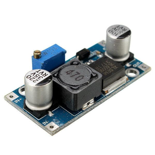 4A XL6009E1 Verstelbare DC-DC Step Up Boost Converter Power Supply Module