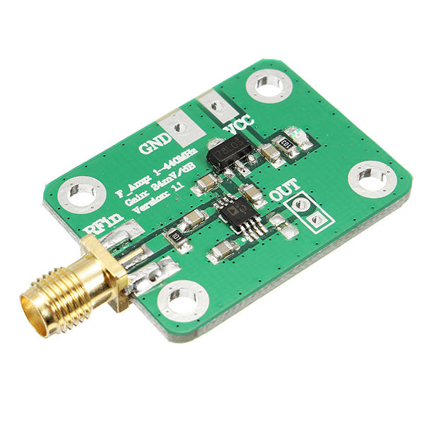 AD8310 0.1-440MHz High-speed H-frequency RF Logarithmic Detector Power Meter For Amplifier