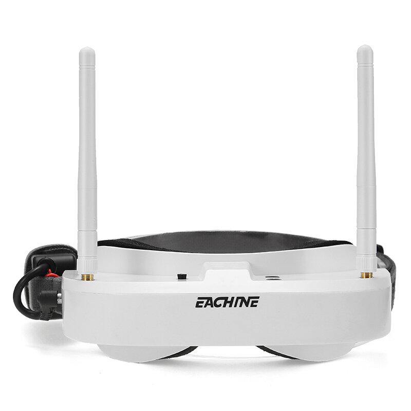 Eachine EV100 720 * 540 5.8G 72CH FPV Gafas Con Antenas Duplas Ventilador 7.4V 1000mAh Batería