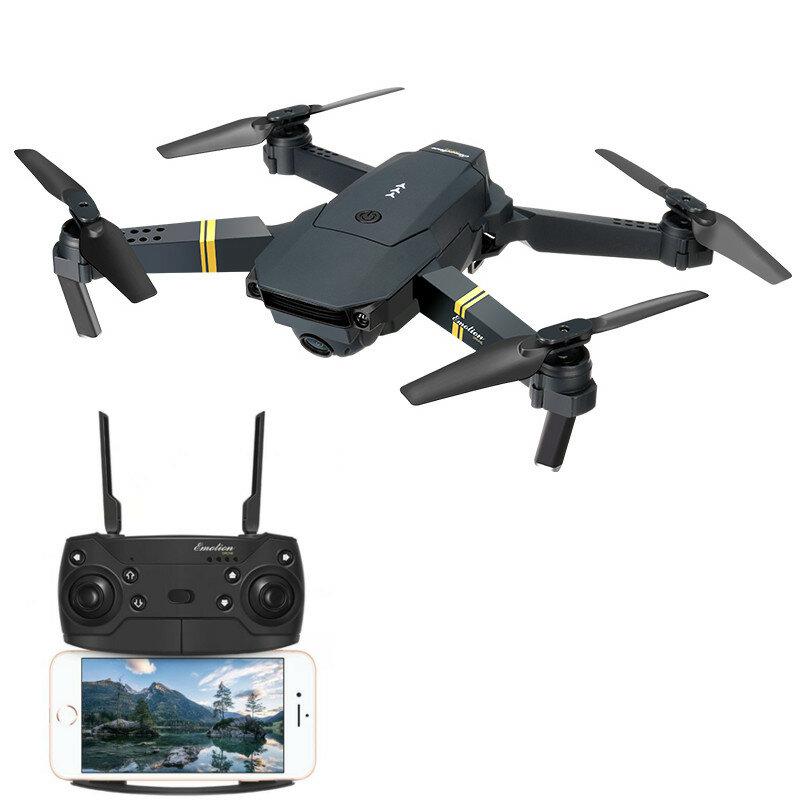 Eachine E58 WIFI FPV con 2MP Cámara Plegable de Gran Angular Modo de Altura Sostenida RC Drone Cuadricóptero RTF