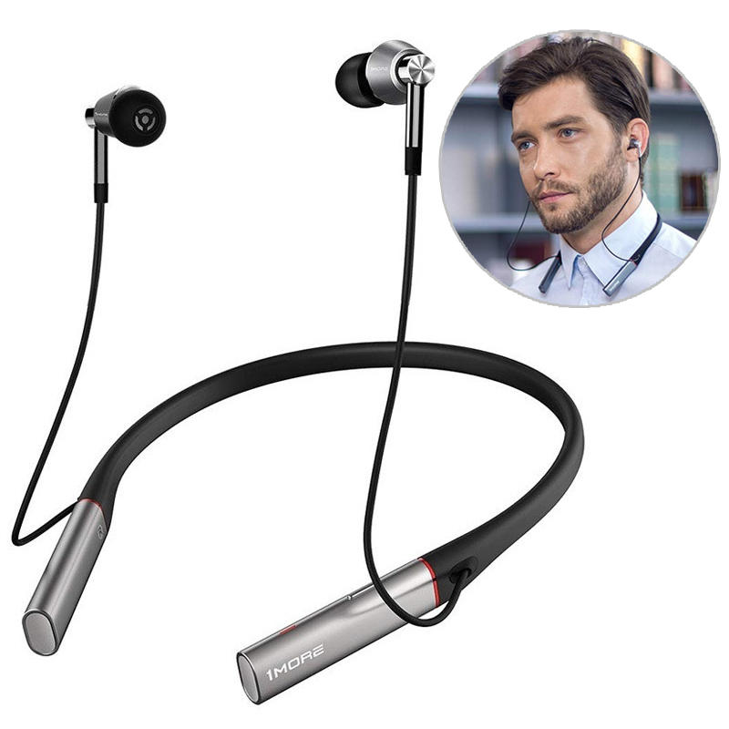 1More E1001BT Hi-Res Wireless bluetooth Earphone Dual Balanced Armature Dynamic ENC Neckband Headset from Xiaomi Eco-System