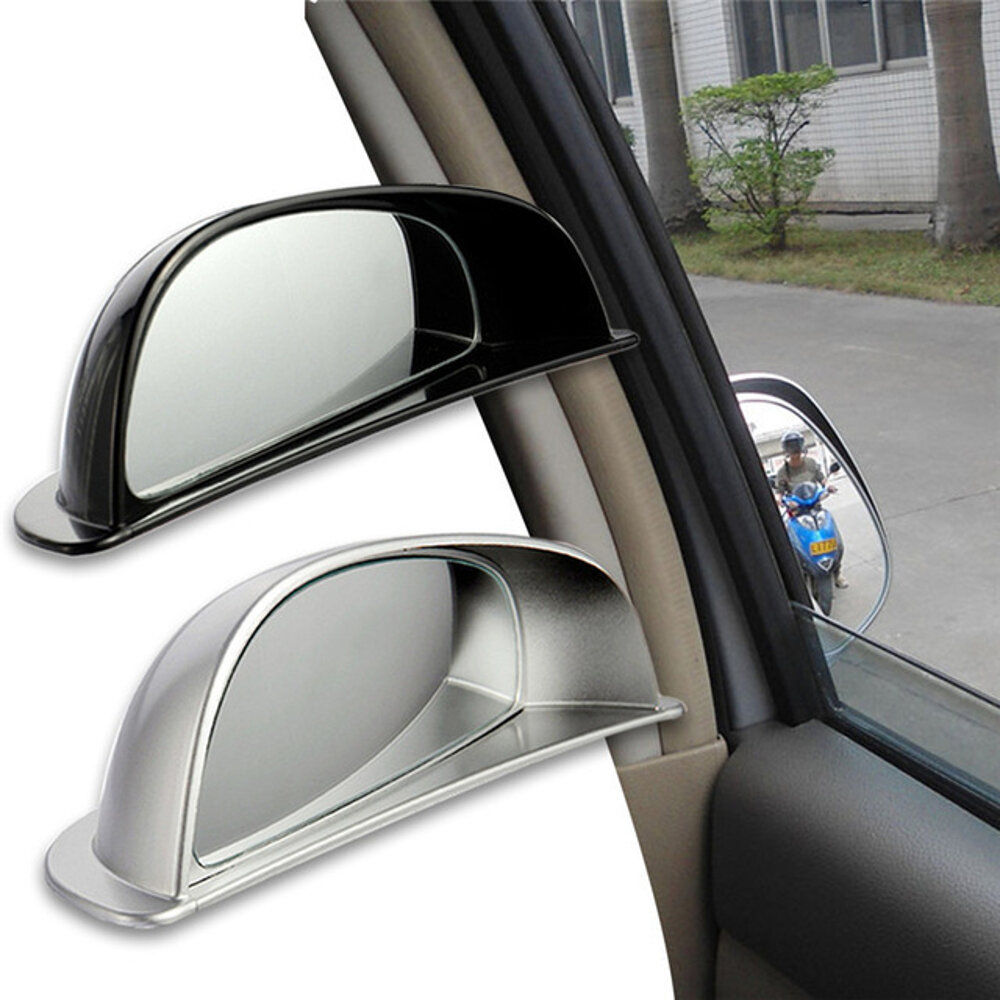 3R Car Back Row Anti-Collision Blind Spot Rearview Mirror HD Convex Wide Angle Auxiliary Mirror фото