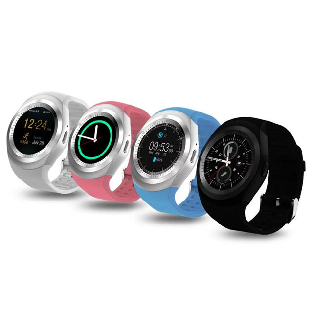 Bakeey Y1 Support Nano SIM &TF Pemodeter Card bluetooth Smart Watch For  iphone X 8/8Plus Sasmung S8 Xiaomi