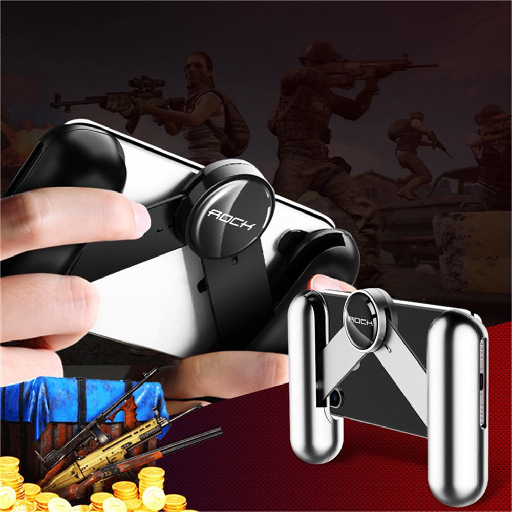 Rock Spring Extended Foldable Handheld Grip Holder Game Controller Gamepad for Samsung Xiaomi