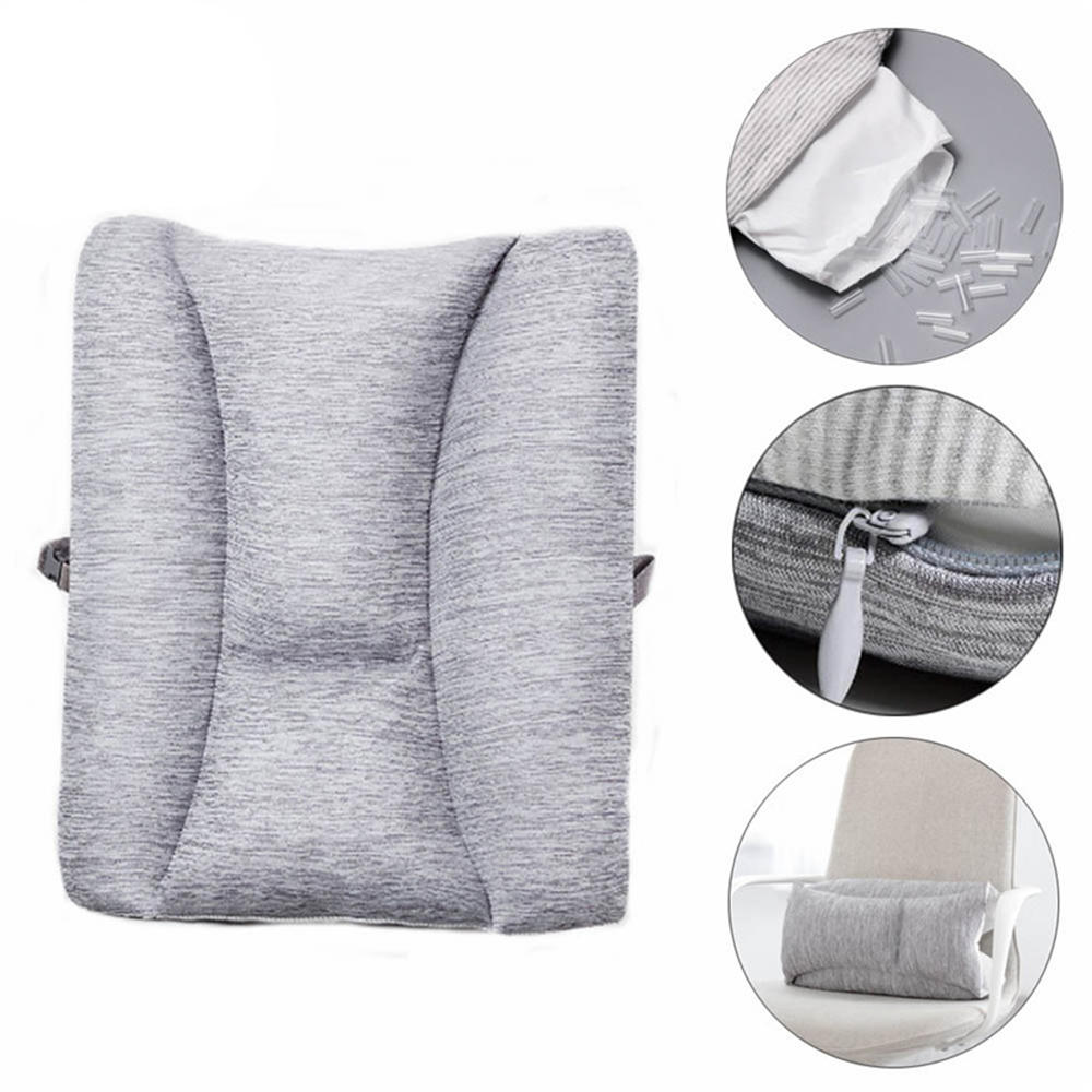8h Adjustable Lumbar Cushion Back Support Pillow Cushion Home Office Car Sofa Seat Supports Chair Pillow Sofa Waist Cushion From Xiaomi Youpin