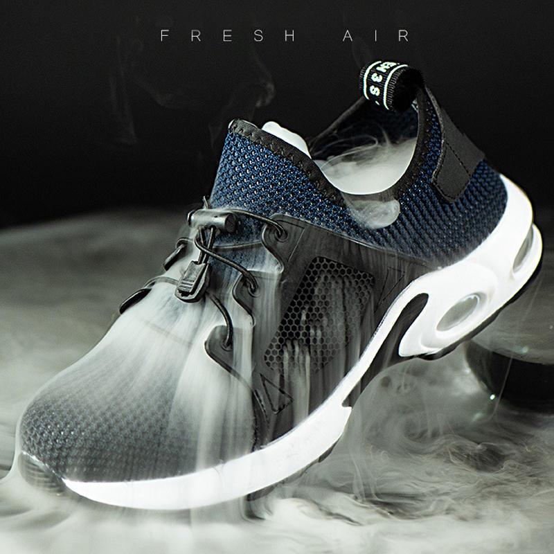 Steel toe breathable lightweight