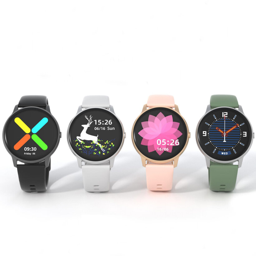 [Global Version]IMILAB KW66 3D HD Curved Screen Heart Rate Monitor 30 Days Standby Customized Watch Face IP68 Waterproof bluetooth 5.0 Smart Watch from Xiaomi Eco-system