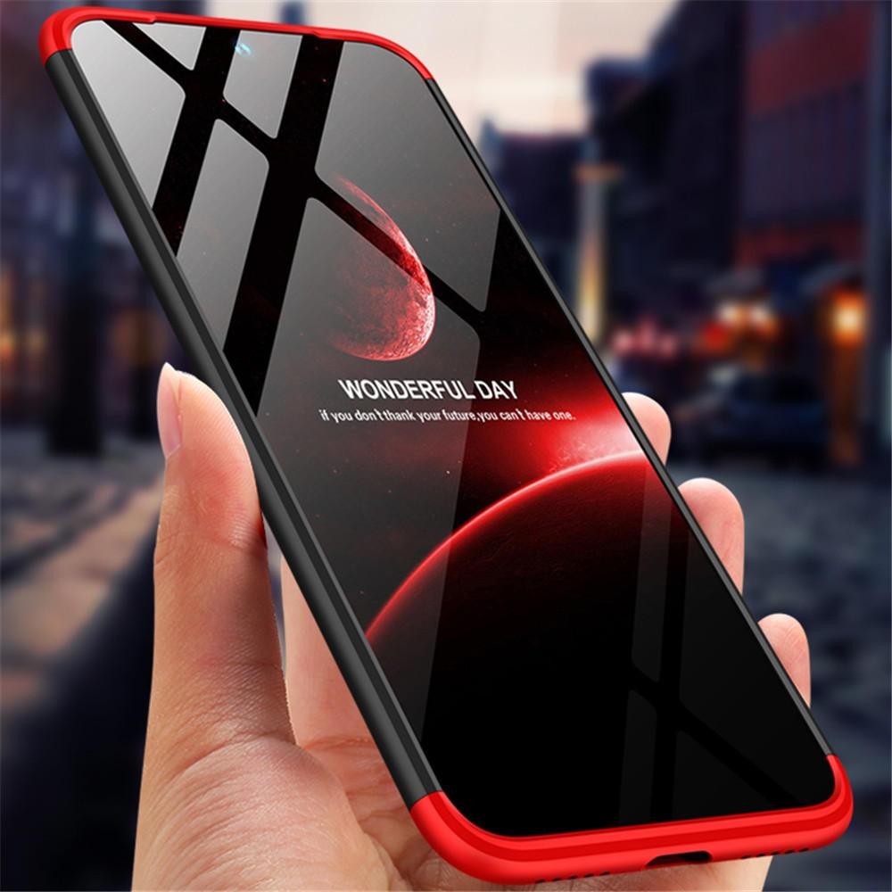 Bakeey ™ Ультратонкий ударопрочный жесткий корпус 3 в 1 для всего тела с защитой Чехол для Xiaomi Redmi Note 7 / Note 7 Pro