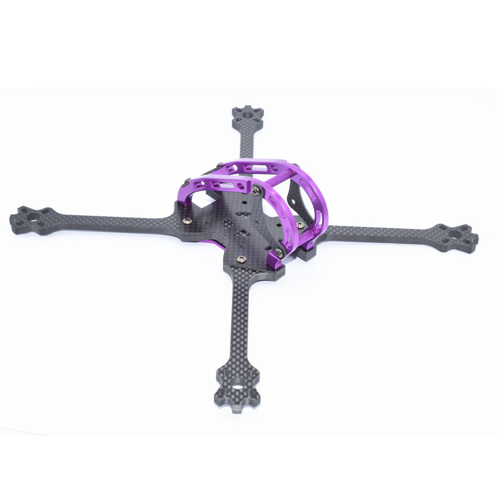 GHINI 250 250mm Wheelbase 5mm Arm Thickness Carbon Fiber Long Range Racing Frame Kit for RC Drone