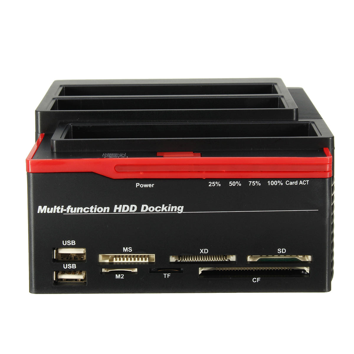 "UK 2.5 ""3.5"" Multifunzionale USB 3.0 per SATA IDE HDD SSD Hard Drive Enclosure Card Reader per clonazione"