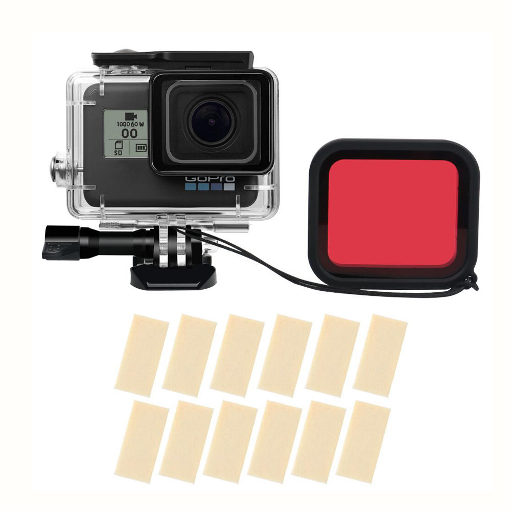 Sheingka Outdoor Waterproof Shell Protective Case With Filter For GOPRO  HERO 5 / 6 / 7 FPV Action Camera