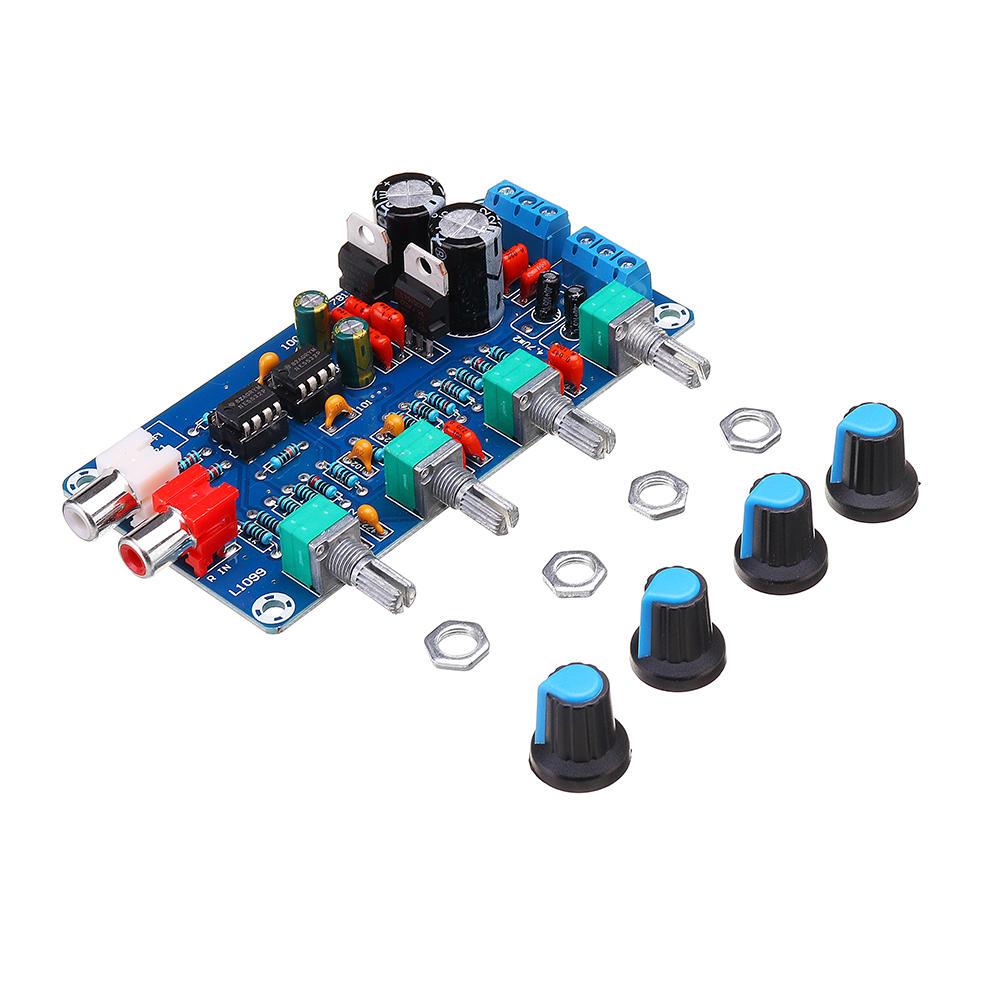 NE5532 OP-AMP HIFI Amplifier Preamplifier Volume Tone Control Board