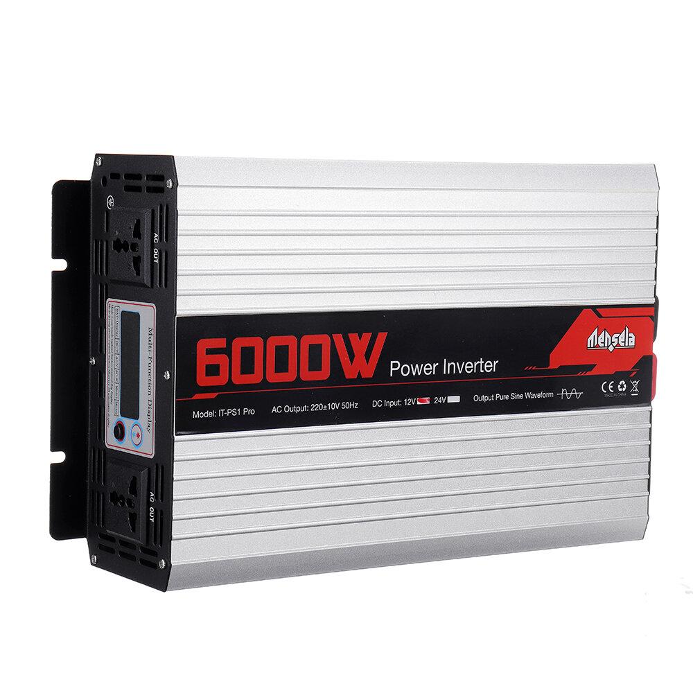 Banggood coupon: Mensela IT-PS1 Pro 220V 50HZ Tela inteligente Inversor de energia solar pura onda senoidal 2200W / 3000W / 4000W / 5000W