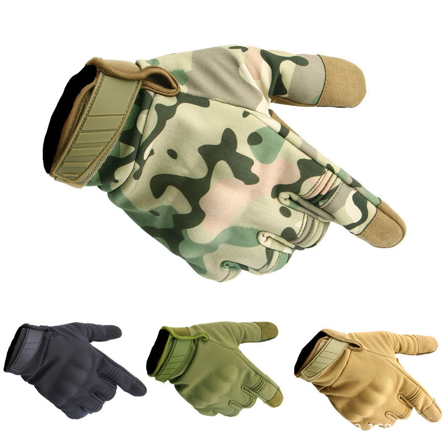 Military Tactical Touch Screen Gloves Outdoor Hunting Army Fishing Cycling Camp