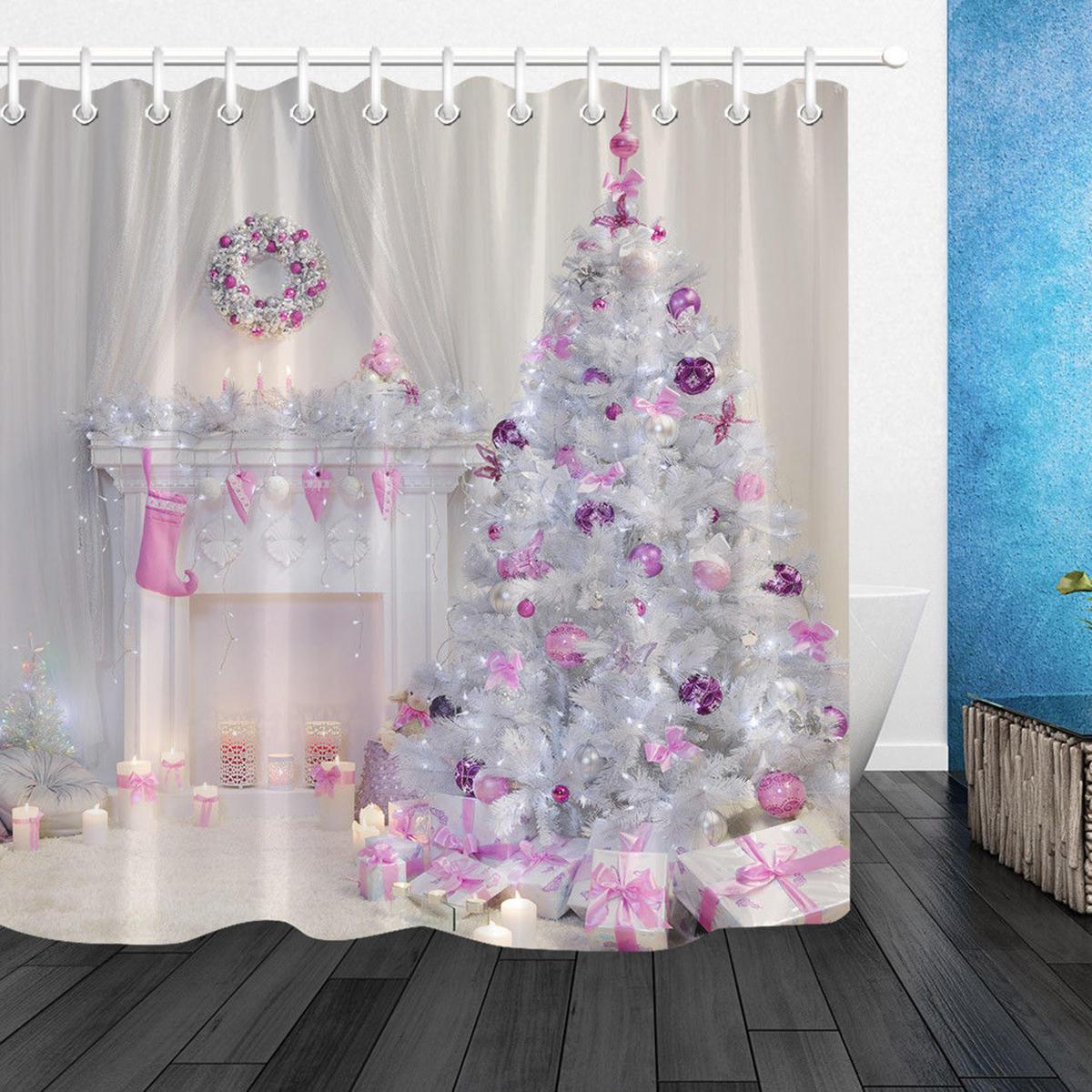Christmas Tree Interior Xmas Fireplace