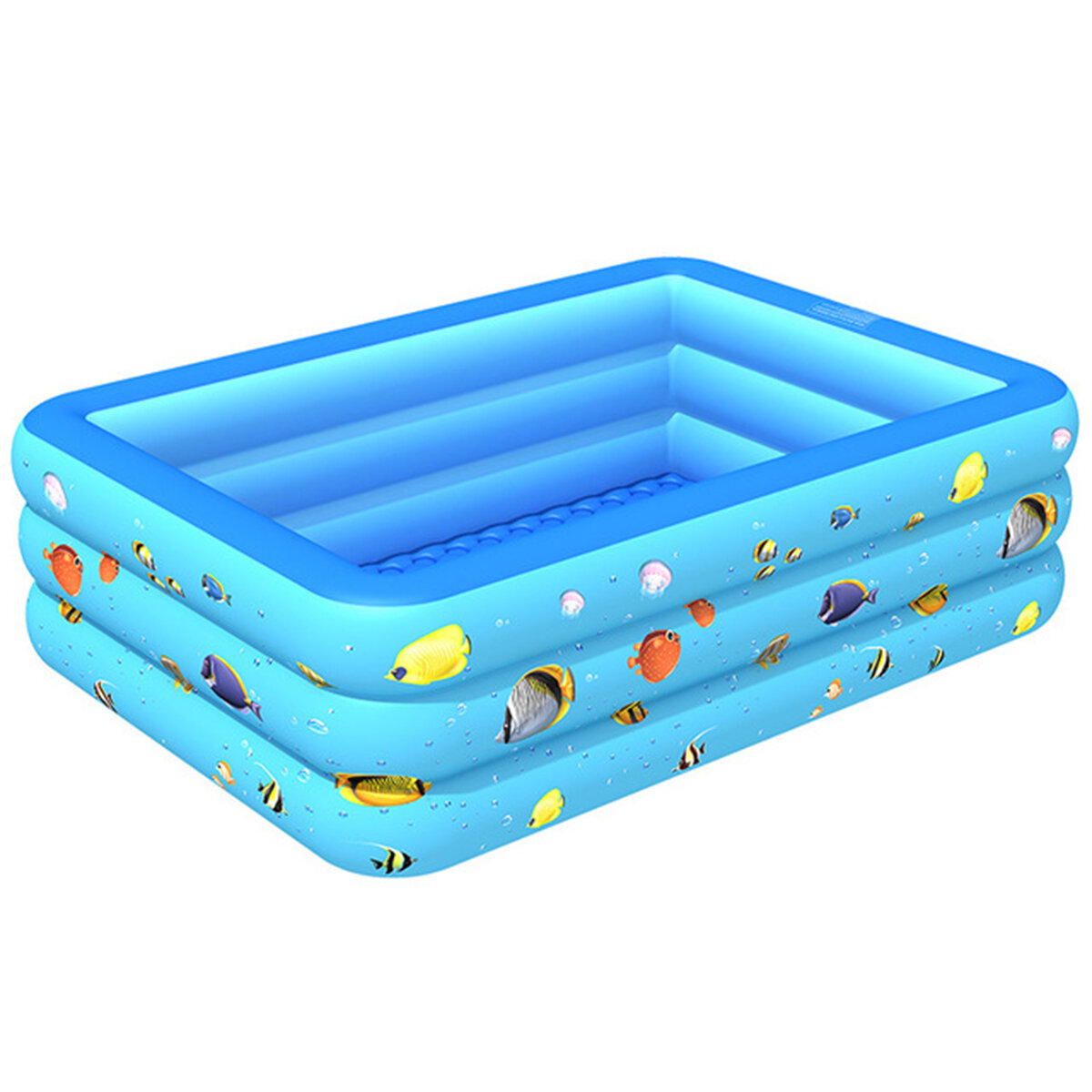 Inflatable swimming pool yard garden family kids play ...