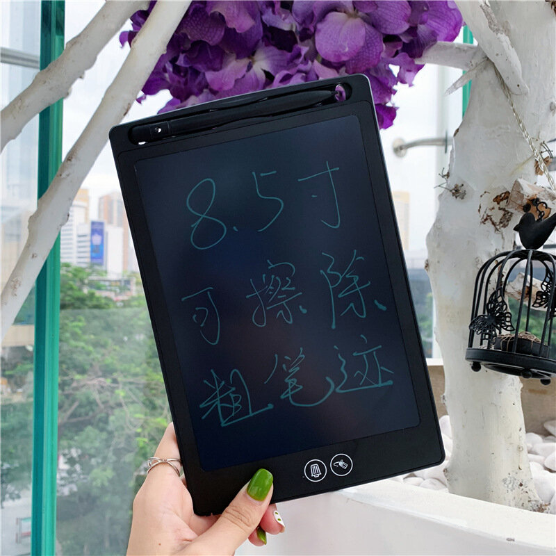 8.5 Inch LCD Writing Tablet Digital Drawing Board Electronic Handwriting Pad Message Graphics Board Kids Writing Board F