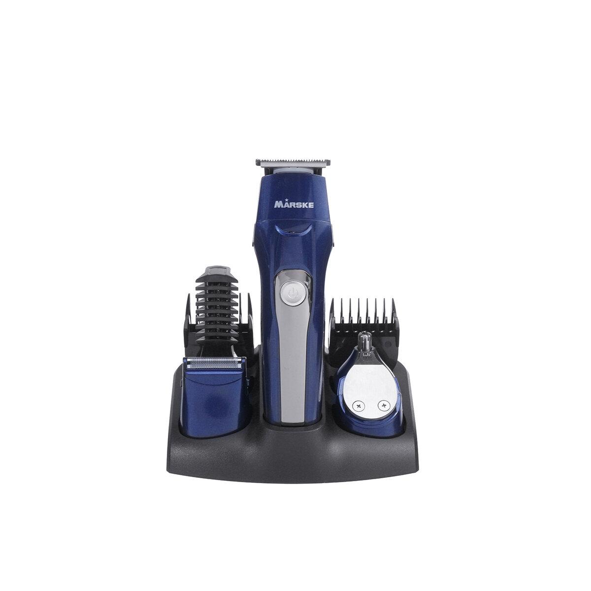 5 В 1 Электрический Волосы Clipper Аккумуляторная Нос Триммер Борода Бритва Стрижка Набор фото