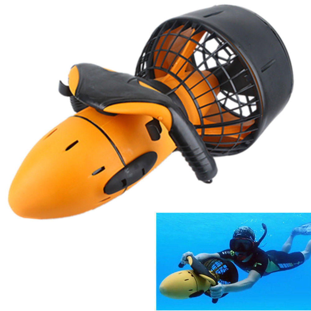 Không thấm nước 300W Electric Underwater Sea Scooter Dual Speed Propeller Drving Pool Rc Submarine Toy