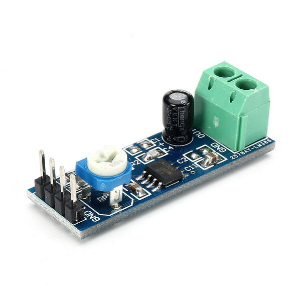 10Pcs LM386 Module 20 Times Gain Audio Amplifier Module With Adjustable Resistance