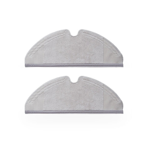 2pcs Mop Cloths for Xiaomi and Roborock Robot Vacuum Cleaner Generation 2 Dry Wet Mopping Cleaning