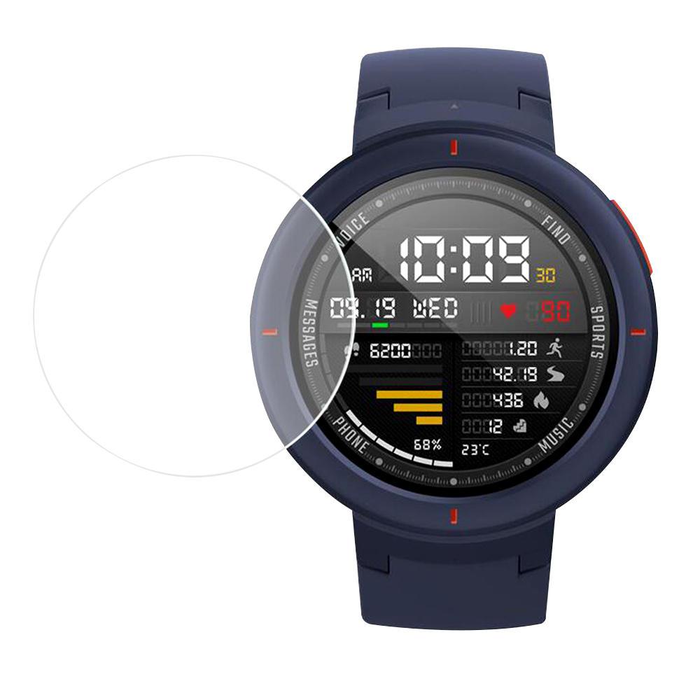 Bakeey 2 unidades Soft Nano protetor de tela de relógio à prova de explosão para relógio inteligente Xiaomi Amazfit Verg