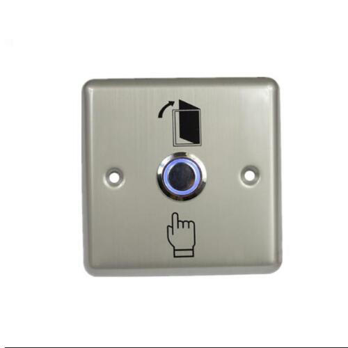 Stainless Steel Door Access Control LED Illuminated Push Button/door Lock  Release Exit Button Switch