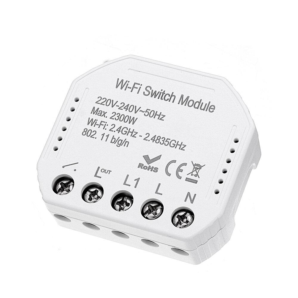 Light Switch Wireless Smart Home Lamps Control Module for Alexa Drop FE