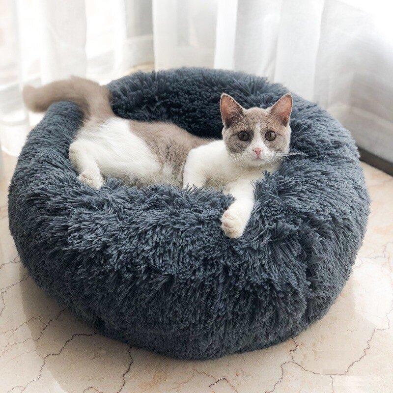 56bd79faf277 Multicolor Cat/Dog Pet Bed Super Soft Warm Round Depth Super Cute Kennel