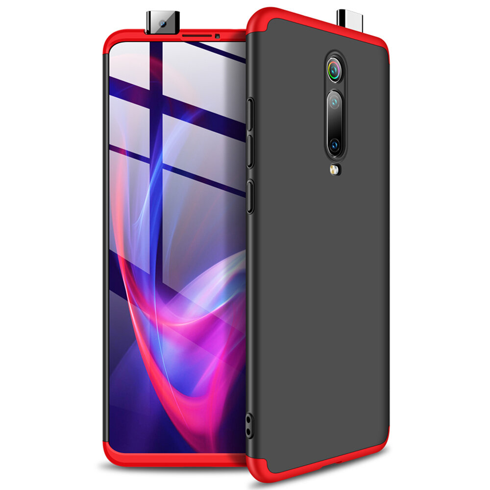 Bakeey 3 in 1 Double Dip 360° Hard PC Full Protective Case For Xiaomi Mi9T / Xiaomi Mi 9T Pro / Xiaomi Redmi K20 / Redmi K20 Pro