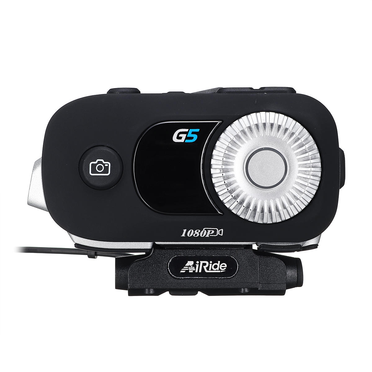 AiRide G5 3500M 1080P Motorcycle Helmet Camera DVR Intercom Headset Driving Recorder with bluetooth Function Interphone