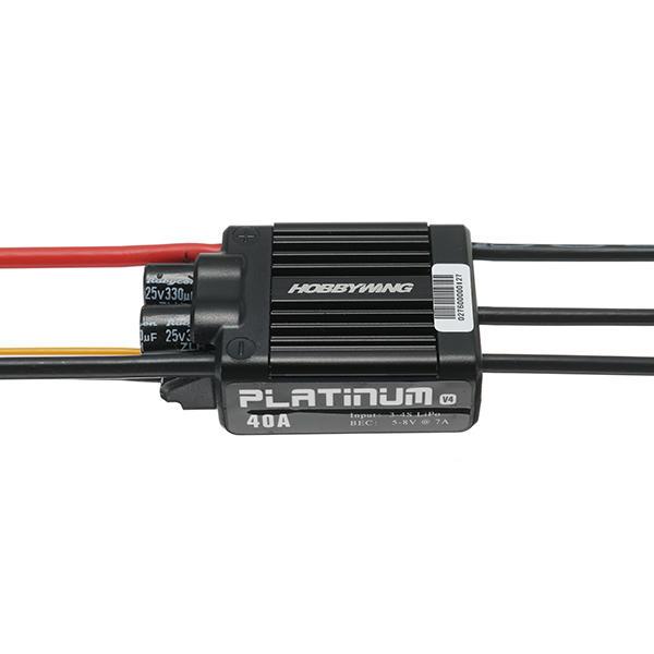 Hobbywing Platinum 25A V4 40A V4 Brushless ESC for RC Models
