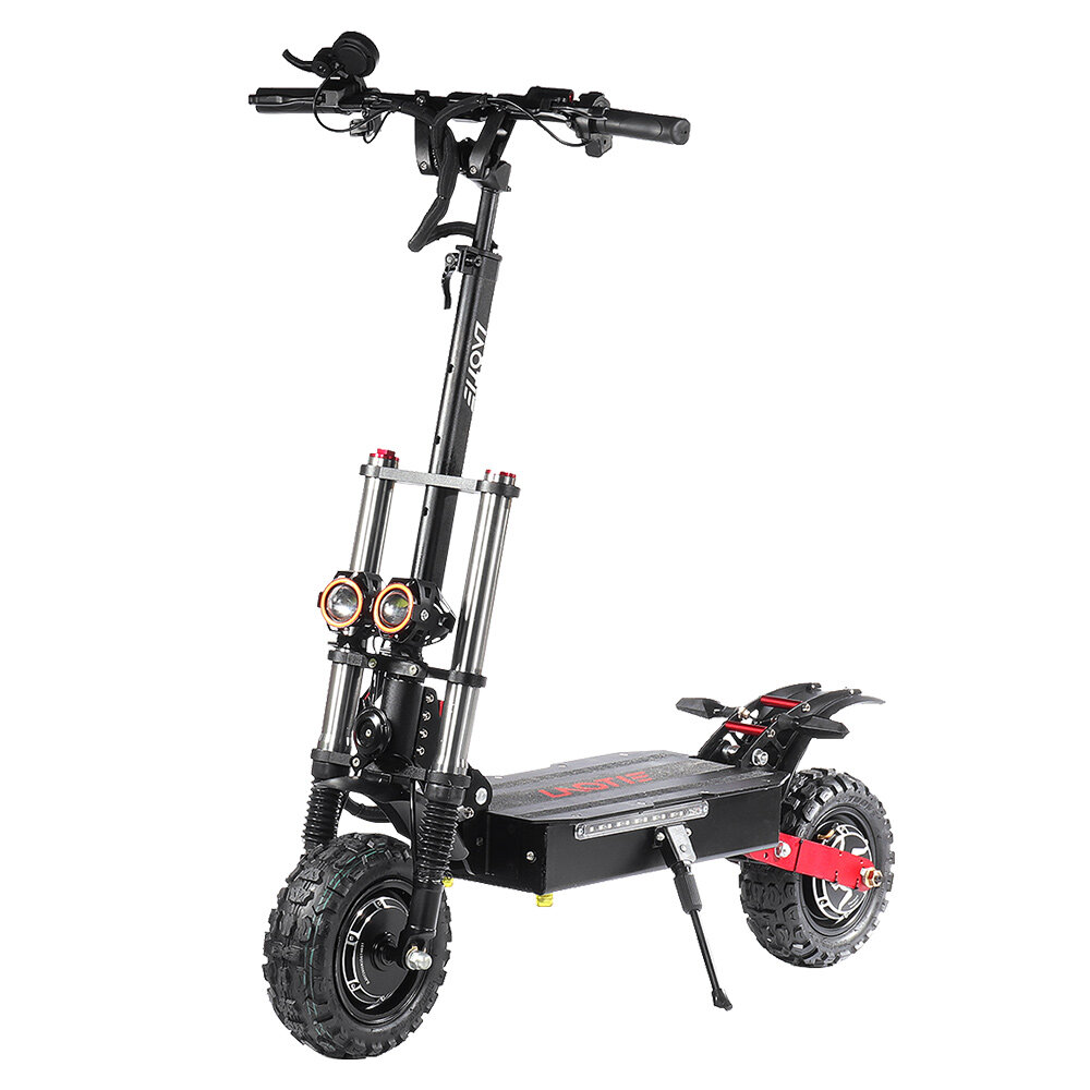 LAOTIE Ti30 Landbreaker 60V 38.4Ah 21700 Battery 5600W Dual Motor Foldable Electric Scooter 85Km/h Top Speed 140km Mileage 200kg Bearing EU Plug - 1